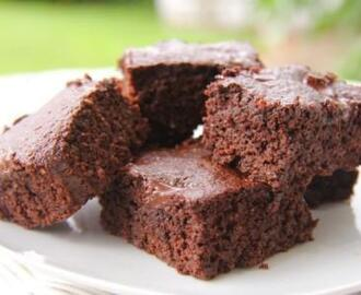 Chocolate and Coffee Brownies (Coconut Flour & Chia Seed)