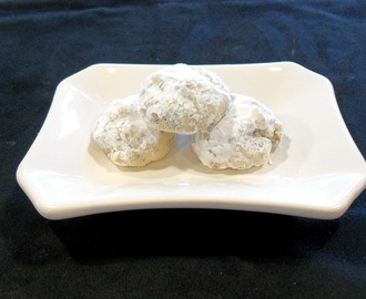 FLORIDA and TEXAS-Mexican Wedding Cookies-Our Cookie Nation