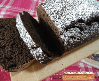 Plumcake all'acqua e limoncello light