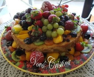 NAKED CAKE DE FRUTAS PARA AS FESTAS DE FINAL DE ANO