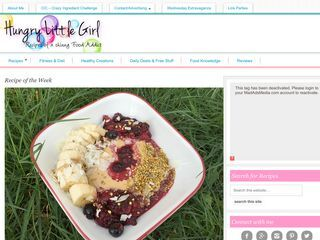 HungryLittleGirl - Recipes of a skinny Food Addict