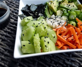 Sushi bowl (vegan)