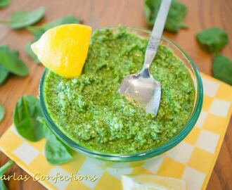 Fresh Friday Finale: Spinach Pesto