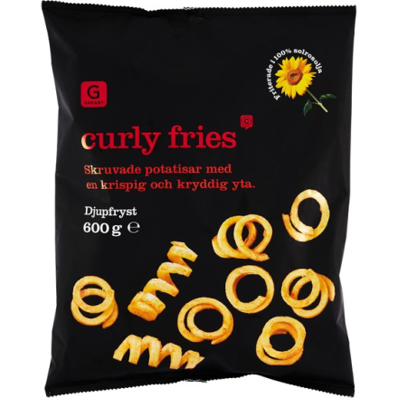 CURLY FRIES FRYST