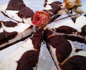 Brownie-Cheese Cake (fotorecept)