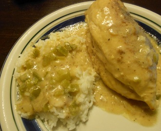 Paula Deen's Smothered Chicken