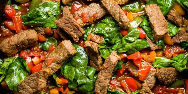 Teriyaki Steak Stir-Fry with Peppers