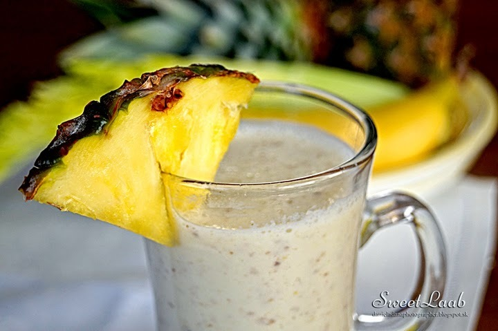 Ananásové smoothie / Pineapple smoothie / Smoothie ananas