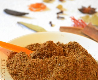 How to make Garam Masala  /  Indian Spice Mix at home ?
