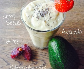 Avocado & Strawberry Shake