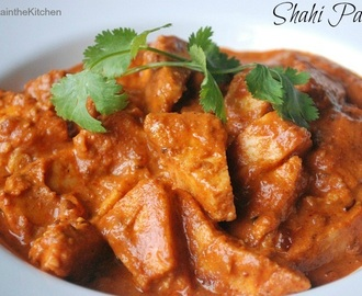 Shahi Paneer - Cottage Cheese in Creamy Tomato Gravy