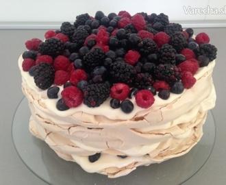 pavlova torta mascarpone recepty kremom