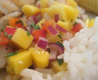 {Yummy} Recipe:  Mango Salsa