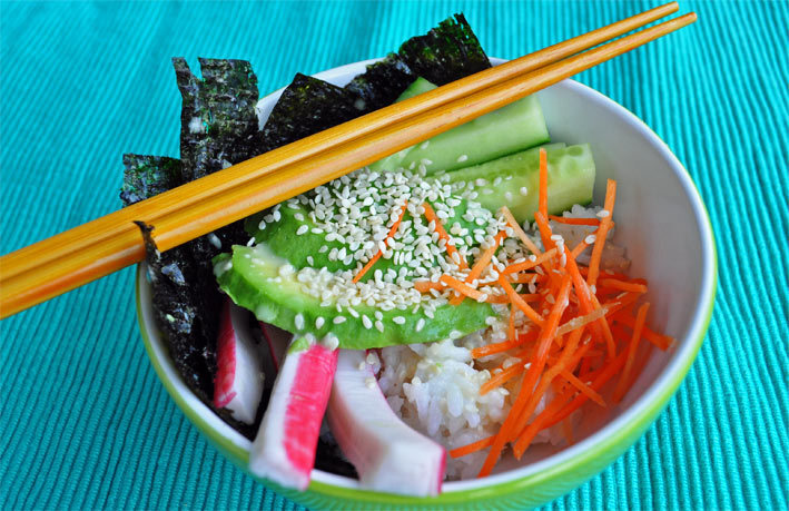 How to: Sushi & Sushi bowl