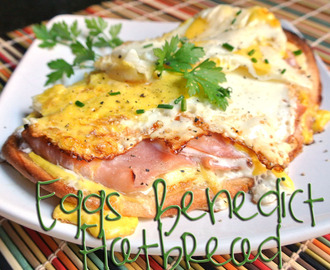 Eggs Benedict Breakfast Flatbread