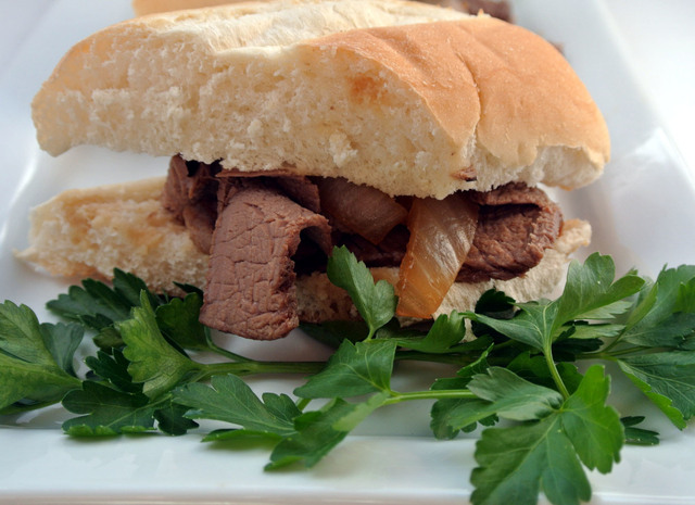 Slow Cooker Gluten Free French Dip