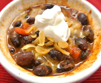 Gluten Free Black Bean soup