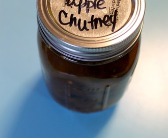From The Canning Vault: Indian Apple Chutney