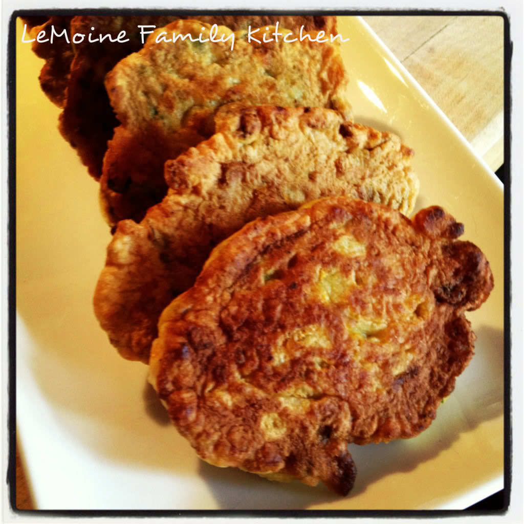 Snack Time :: Zucchini Blossom Fritters