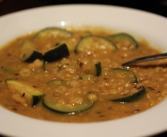 Channa Dal with Zucchini