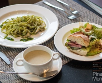 Pasta, Sandwich and Salad Lunch Bar at Misto Restaurant