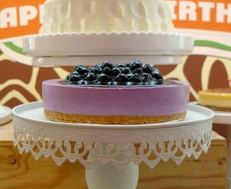 Yakult blueberry mousse cake