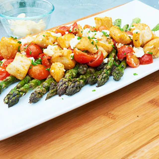 Jamie Purviance's Asparagus and Tomato Salad with Feta