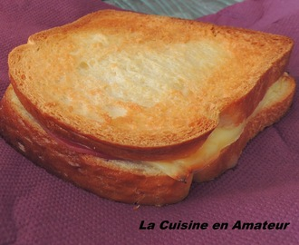 Croque monsieur au bacon