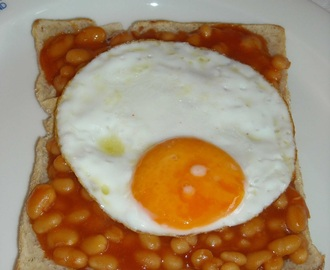 Ruokaohje: 2x Eggs and Beans