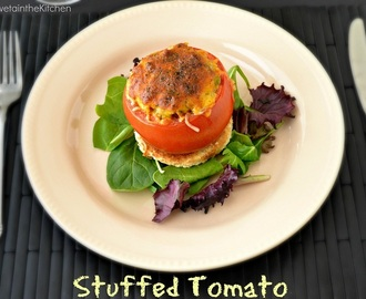 Stuffed Tomato - Stuffed Tomatoes - One Pot Meal