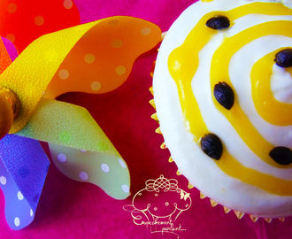 Cupcakes Fruit de la passion et Lemon Curd