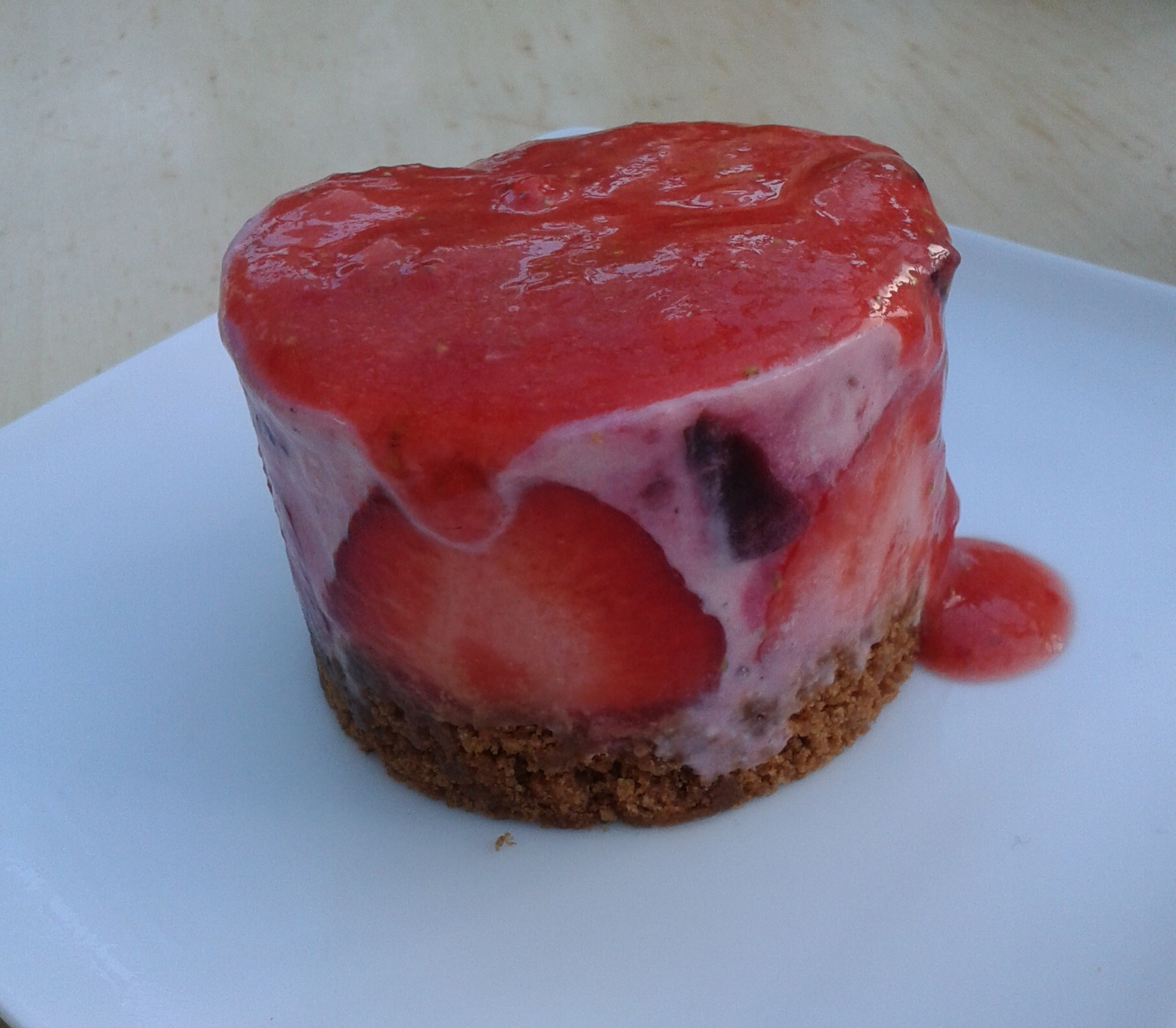 #44 – Frozen cheesecake dessert