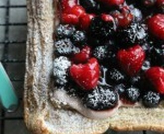 Simple Fresh Berry Tart