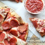 Simple Homemade Deep-Dish Pepperoni Pan Pizza