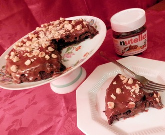 Valentine's Day with Death by Nutella Cake