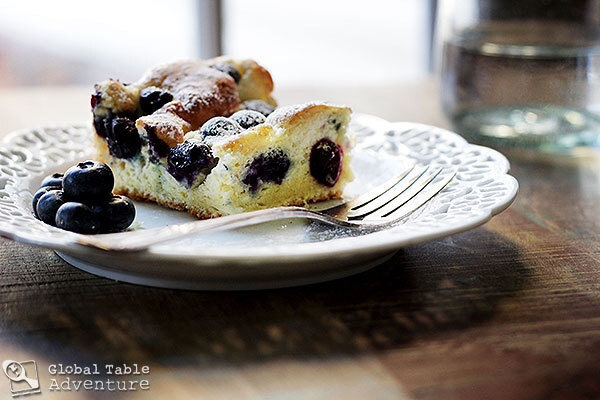 Recipe: Blueberry Bublanina | Bubbly Cake