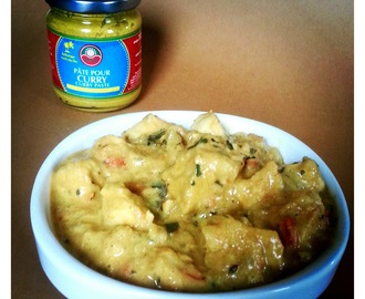 Poulet lait de coco & curry