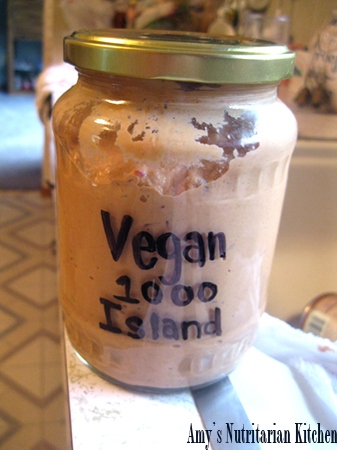 Vegan 1000 Island Dressing