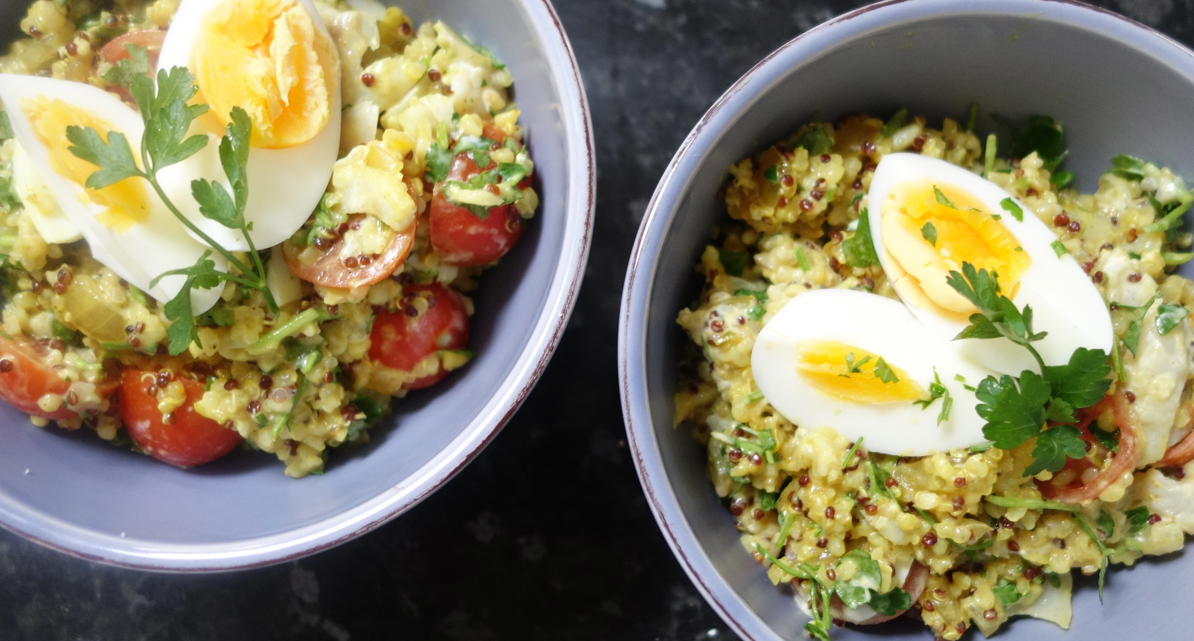 Skinny Kedgeree! The ultimate breakfast (brunch, lunch or supper)