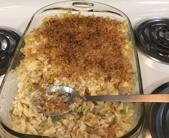 How to Make French Onion Chicken Noodle Casserole