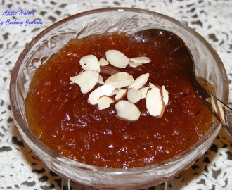 Apple Halwa (Indian desert made with apples)