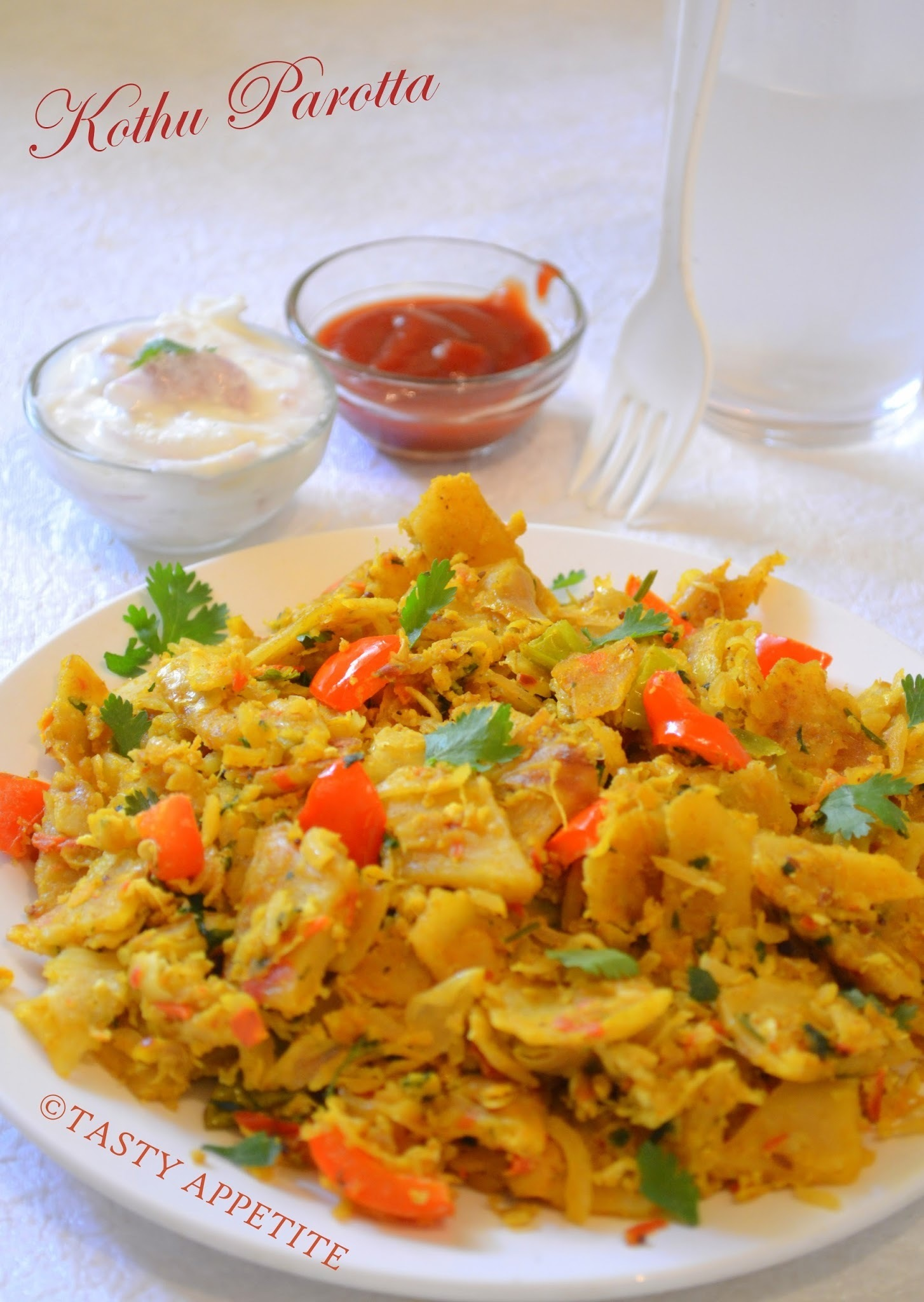 Kothu Parotta / Step by Step Recipe