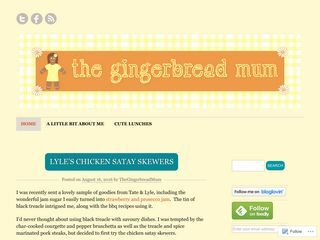 The Gingerbread Mum