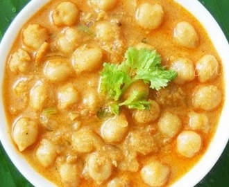 Chana Masala With Coconut / Chole Kurma
