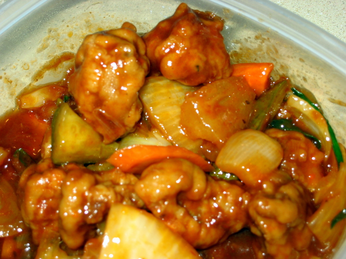 Sweet And Sour Pork/Gu  Lo Yoke