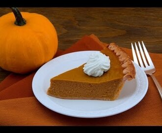 Pay de Calabaza // Pumpkin Pie Thanksgiving