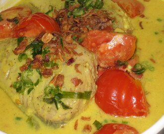 Fish in Coconut Milk Sauce/Sothy
