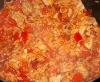 Wednesday dinner: Gringo arroz con pollo