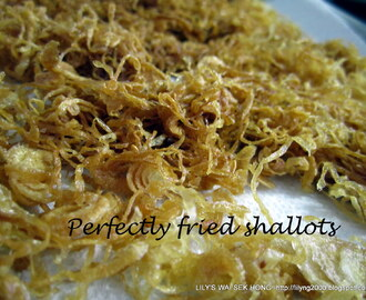 Step by Step: How to prepare Fried Shallots