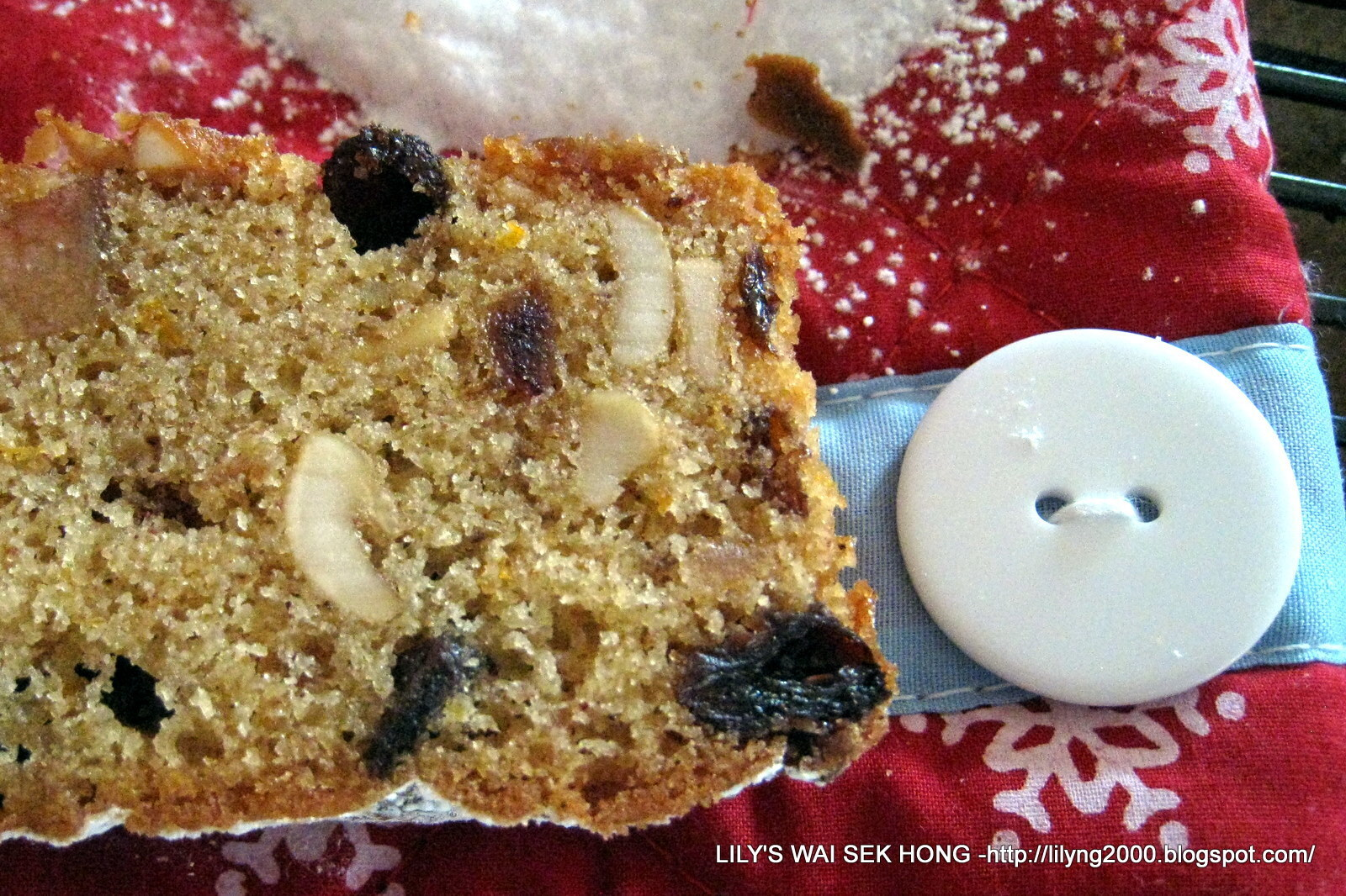 Easy Christmas Fruitcake